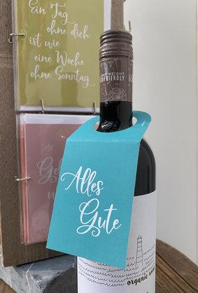 Flaschenanhänger-Donc