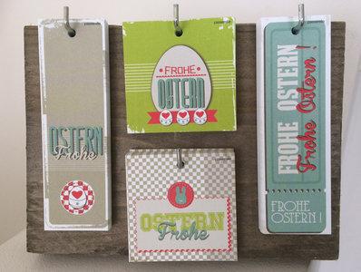 Kartenständer Ostern