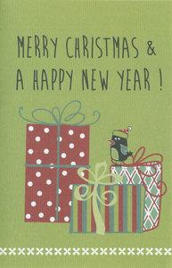 Weihnachtskarten Bo Merry Christmas & a Happy New Year !