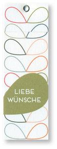 Arkki label Liebe Wünsche